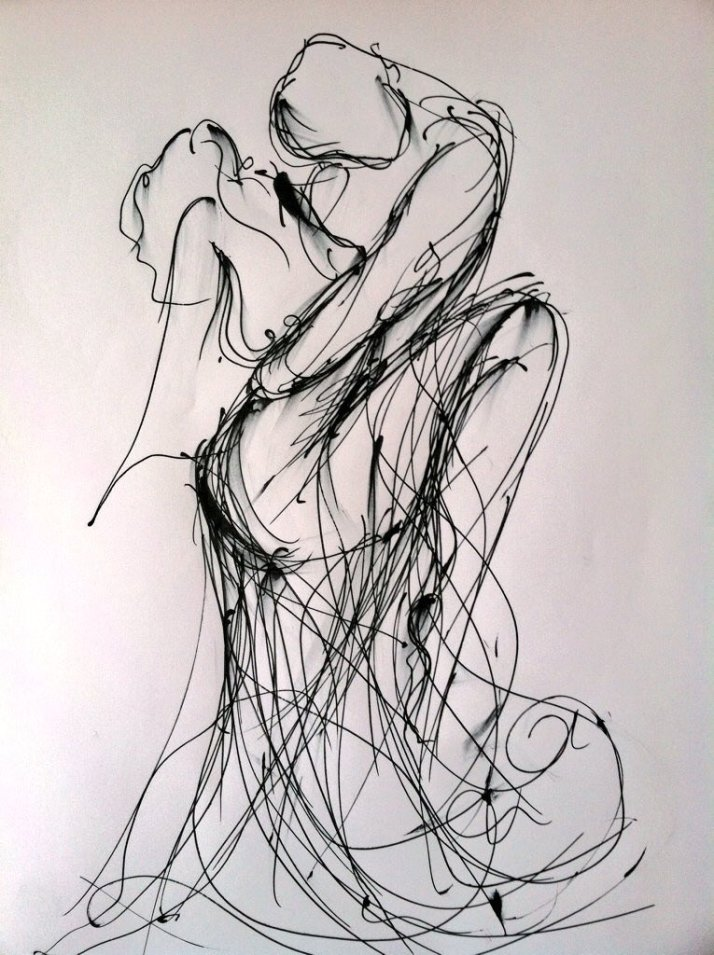 pen-and-ink