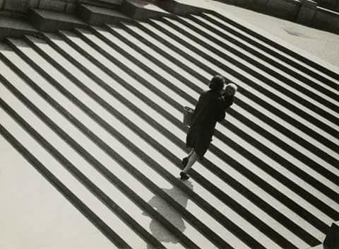 Alexander Rodchenko, Stairs (Lilya Brick), 1930