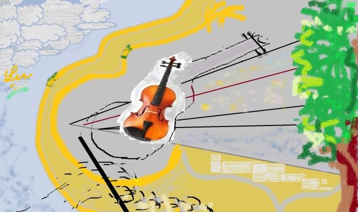 second fiddle paint